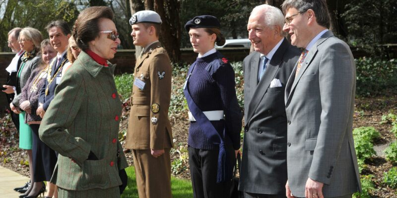 Hrh Meets Civic Dignitaries Dr Ed Kessler Mbe Woolf Institute Founder Director Lord Harry Woolf