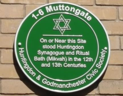 Huntingdon plaque 4