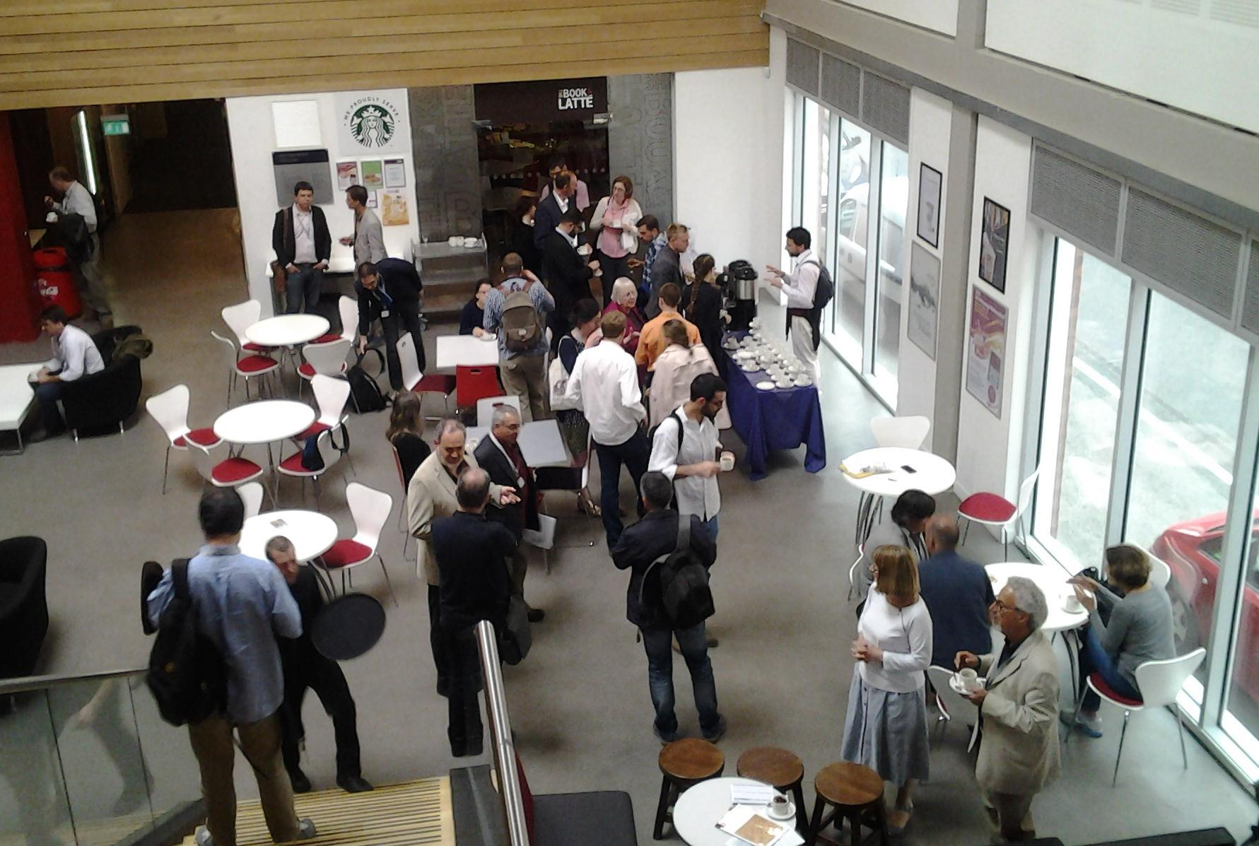 Coffee break - the most important part of any conference (Photo: SMS)