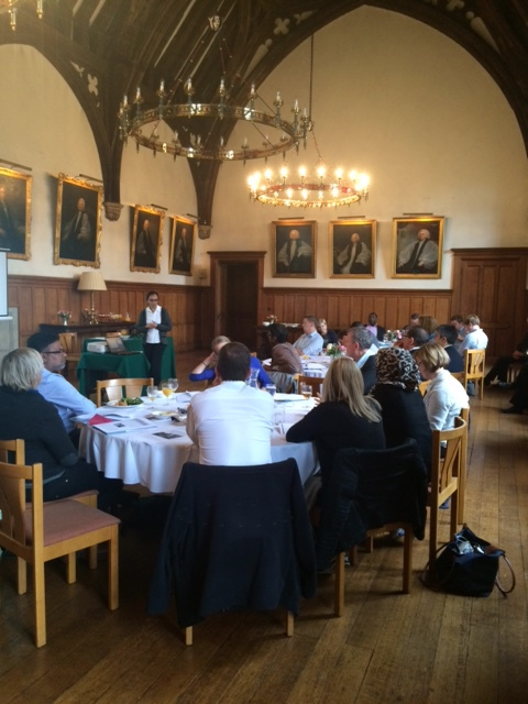 Delegates on our study programme at the historic Lambeth Palace