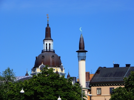 Sweden Church and Mosque