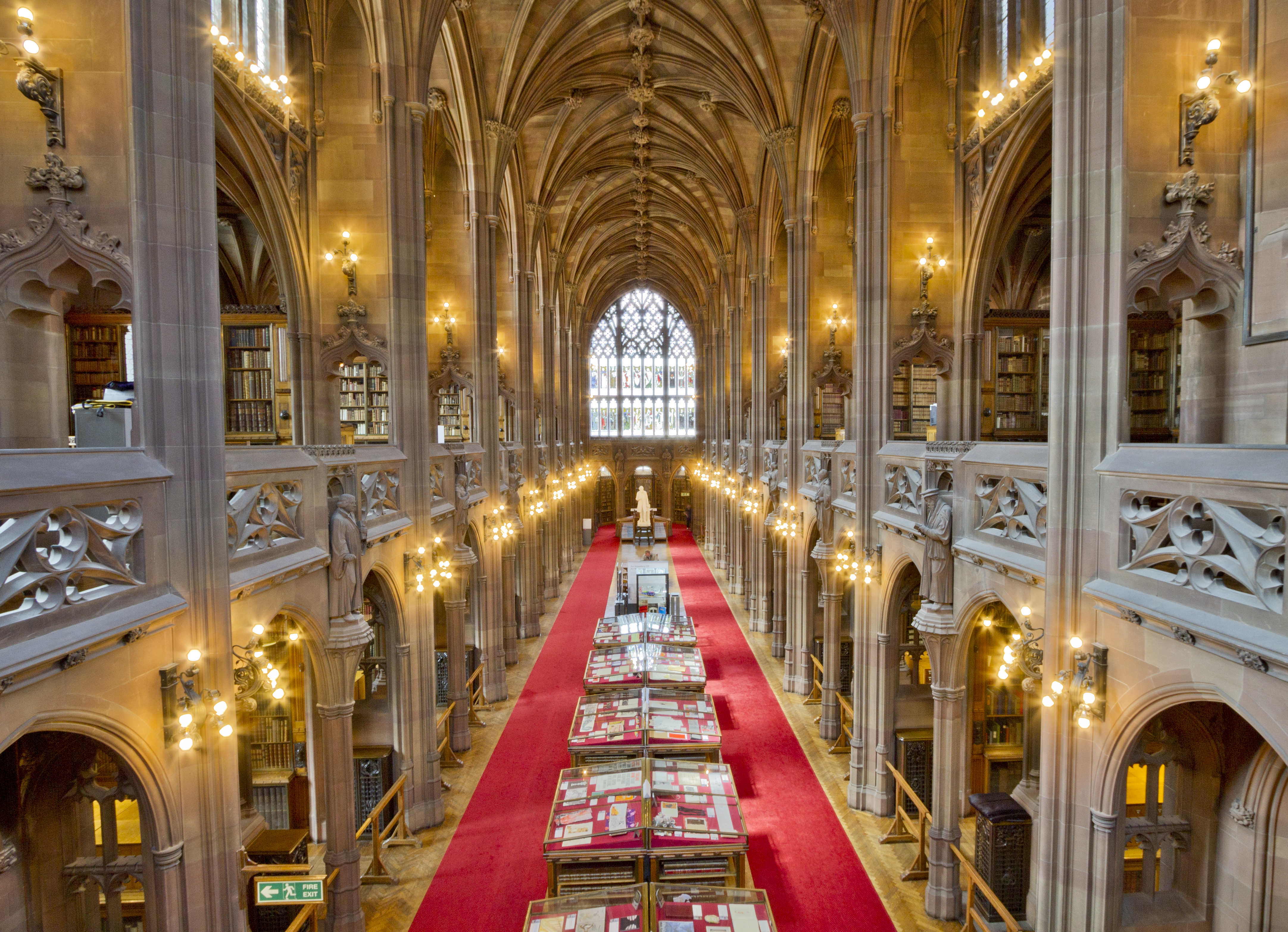 The_John_Rylands_Library_Interior